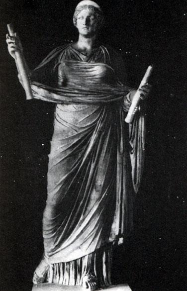 картинки богини клио